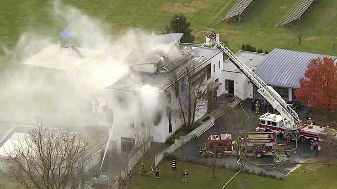 4 dead in NJ mansion fire, officials investigating possible arson