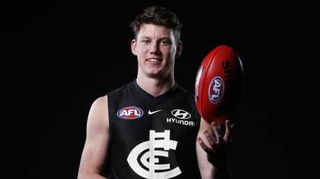 Sam Walsh was drafted with the No.1 pick. Picture: AAP