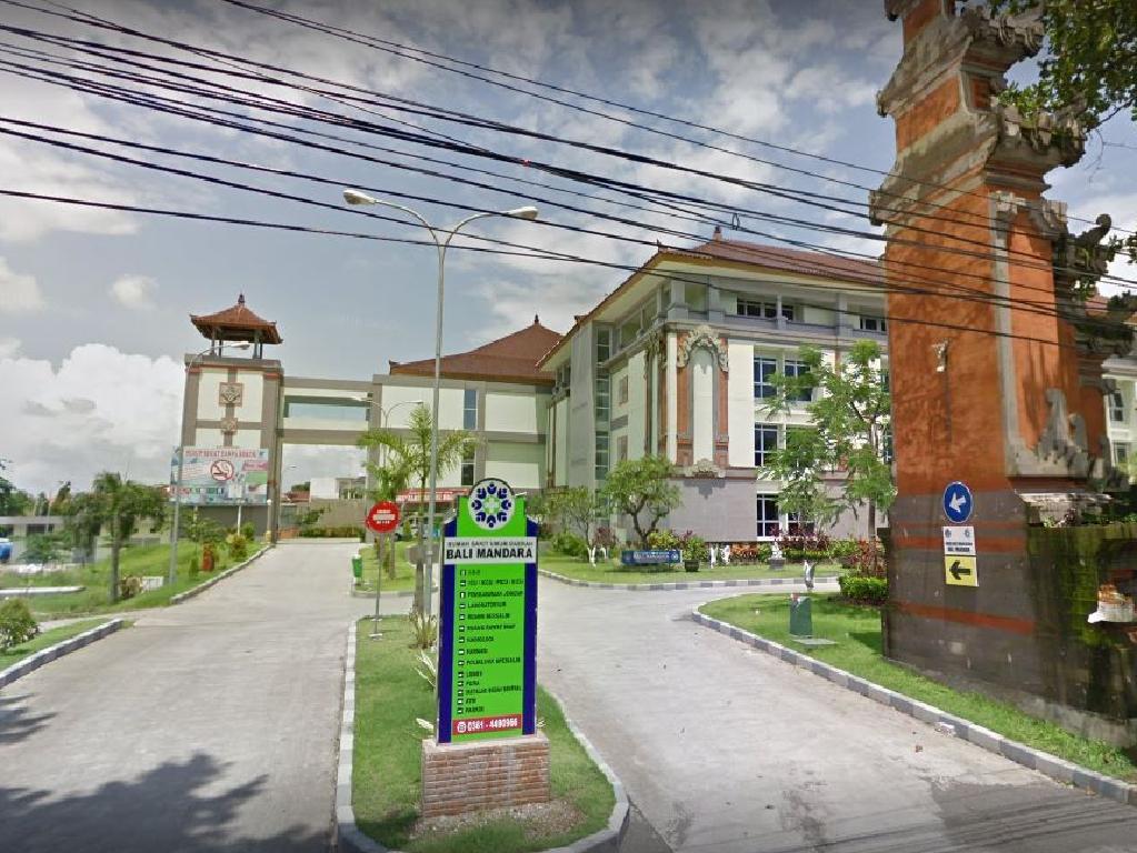 Bali Mandara hospital. Picture: Google