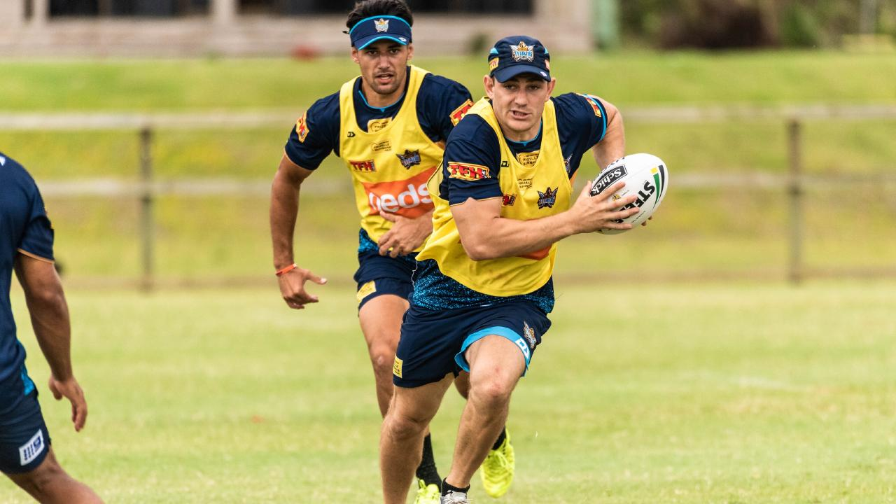Ryley Jacks at pre-season training. Picture: Gold Coast Titans