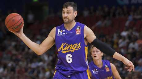 Andrew Bogut was a huge signing for the NBL. Picture: AAP