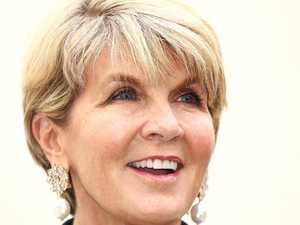 Julie Bishop's coded message
