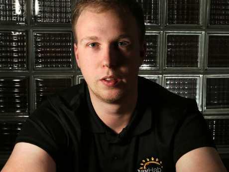 Former ice user Jack Nagle. Picture: Stuart Milligan