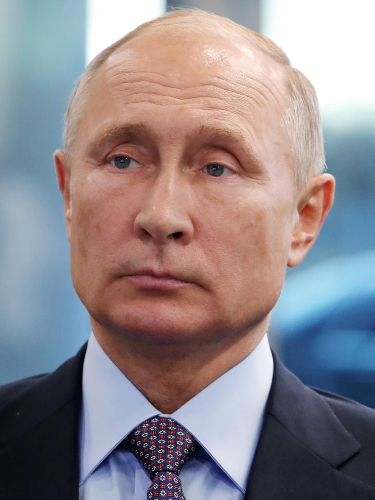 In some international polls, people have expressed higher confidence in Vladimir Putin than Donald Trump.