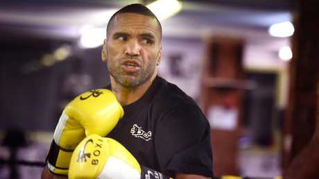 Anthony Mundine his planning carefully for Jeff Horn. (Tony Gough)