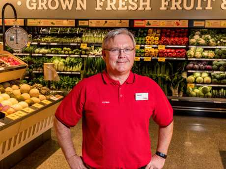 Coles Group CEO Steven Cain says customers are at the heart of the new firm. Picture: Jake Nowakowski
