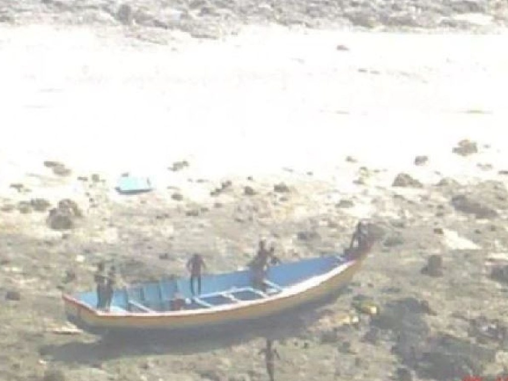 Tribe members attack outsiders who try to visit the island with spears and bows and arrows. Picture: Indian Coast Guard