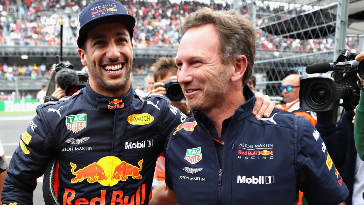 Daniel Ricciardo will wave goodbye to Red Bull at the end of 2018. Picture: Mark Thompson/Getty