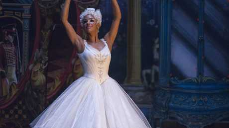 Misty Copeland as the Ballerina Princess in the film's short ode to ballet