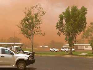 Dust storm prompts health alert