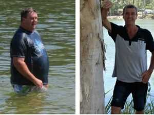 Dad's dramatic transformation after losing 73kgs