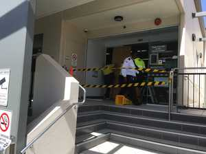 Doors smashed in Centrelink attack