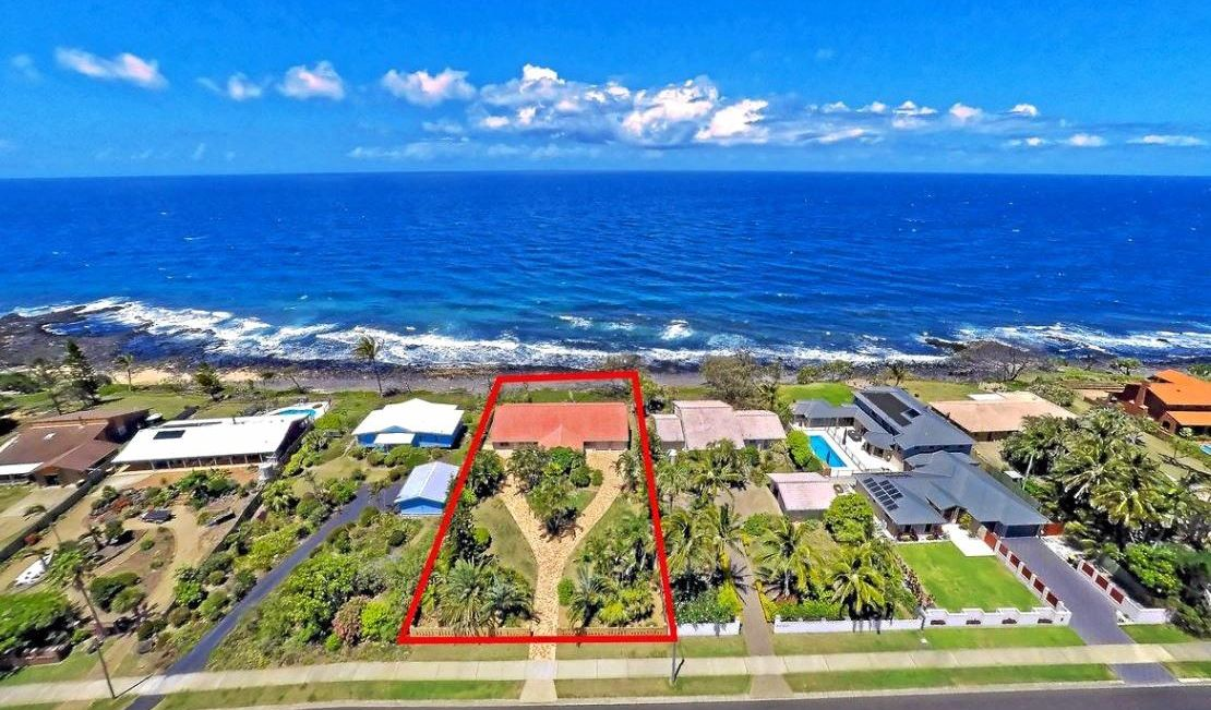 STUNNING: The direct ocean front property at 46 Barolin Esplanade is on the market for $859,000.
