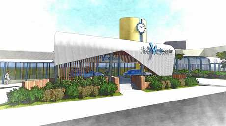 Artist impression sof the upgrade. Sunshine Coast's premier performing arts and conference centre - The Events Centre at Caloundra - is in the midst of a $6 million redevelopment, with the most significant stage of work due to start next month.