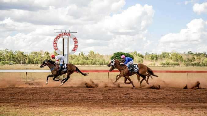 KICKING UP DUST: Some fine racing  is expected at Pepperina Park on Saturday.