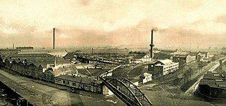 An early Rheinmetall factory.