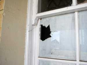 Police investigate smashed windows