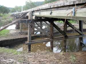 A fifth of Gympie's 82 timber bridges have had better days
