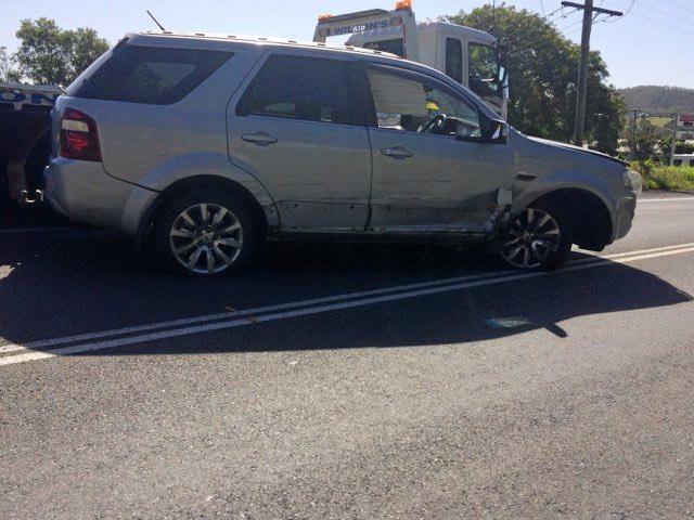 Car crash Bruce Highway