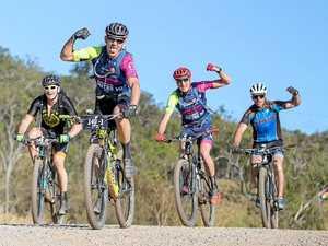 Coast pair set for gruelling test on bikes