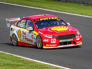 McLaughlin leads the way in practice at Newcastle