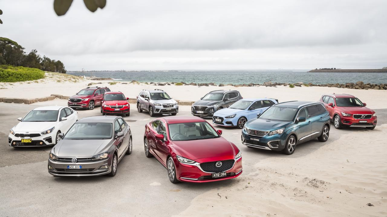 Which of these 10 cars will take out this year's top gong.