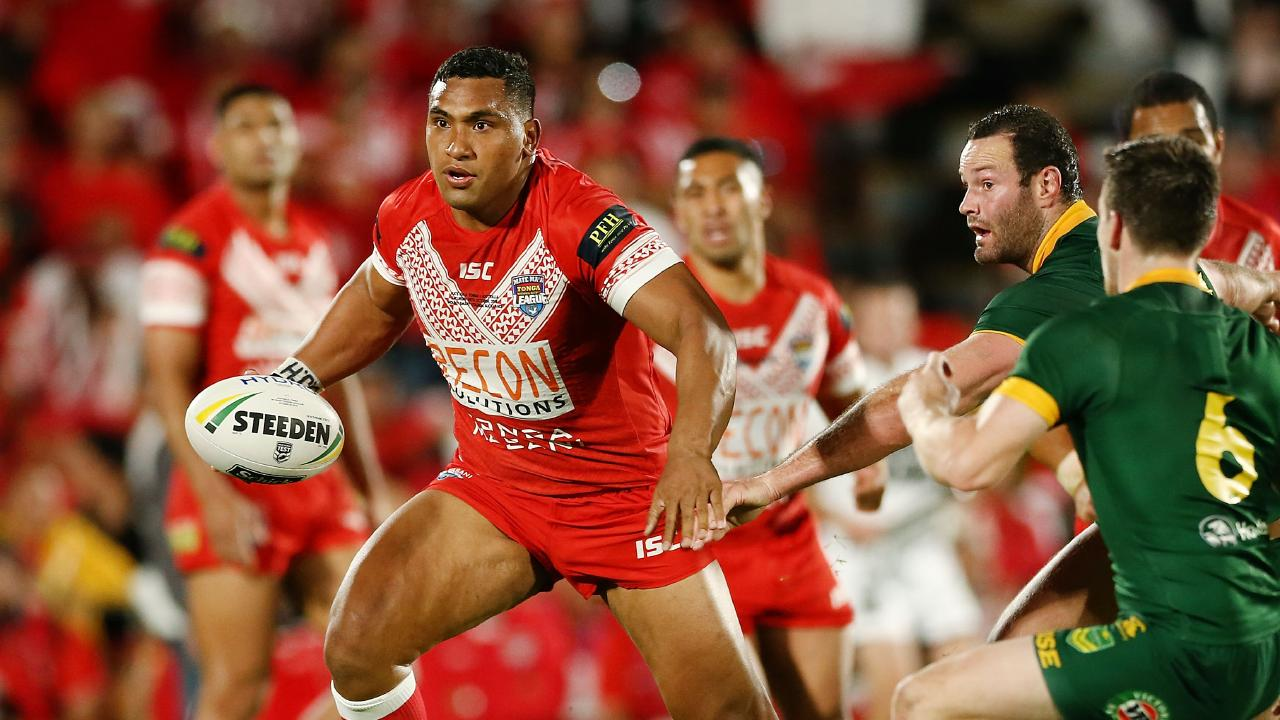 Tevita Pangai Junior is still eligible to play for both Tonga and the NSW Blues. Picture: Anthony Au-Yeung/Getty Images
