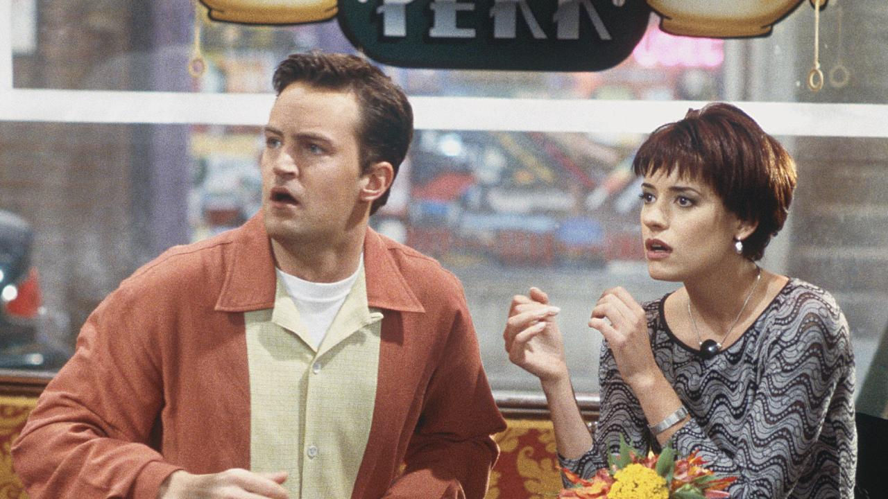 Chandler dated Kathy back in the show's fourth series, which led to a falling out with Joey. Picture: Supplied