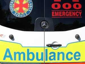 Teen taken to hospital after single-vehicle crash