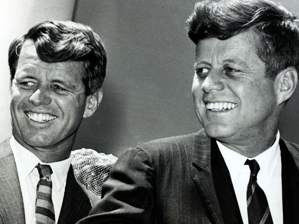 Robert Kennedy is said to have taken brother, John F. Kennedy's brain after an autopsy. Picture: Getty