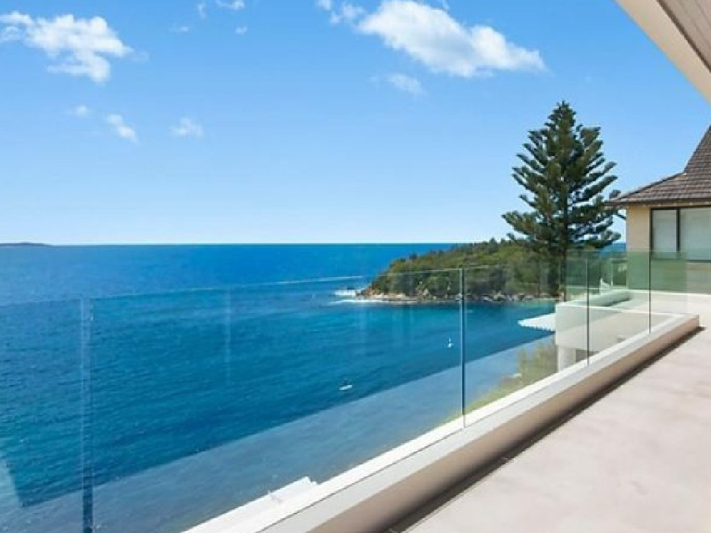 The view from 68 Bower St, Manly.