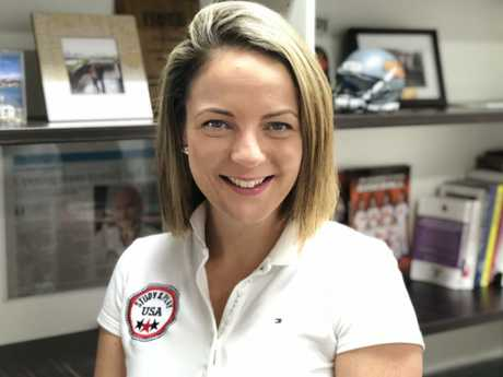 Alexia Bates, talent manager for Study and Play USA, says there are lots of opportunities at US colleges for sporty and smart Aussie students. Picture: Supplied.