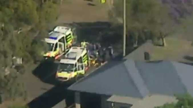 A police operation is underway in Sydney's south. Picture: 7 News Sydney