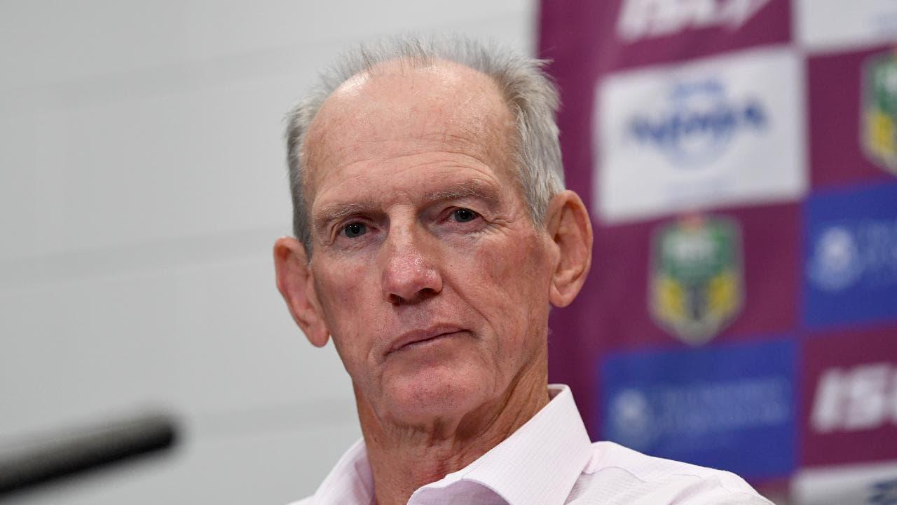 Brisbane legend Chris Johns is outraged at the Broncos coaching saga. (AAP Image/Dave Hunt)