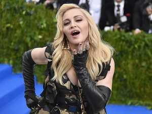 Madonna shares rare family portrait