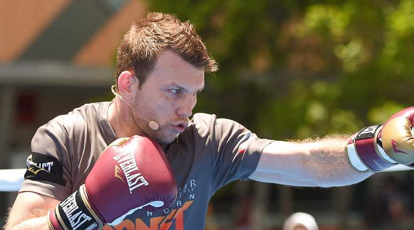 Jeff Horn has been meticulously preparing for his bout with  Anthony Mundine. Picture: Albert Perez/Getty