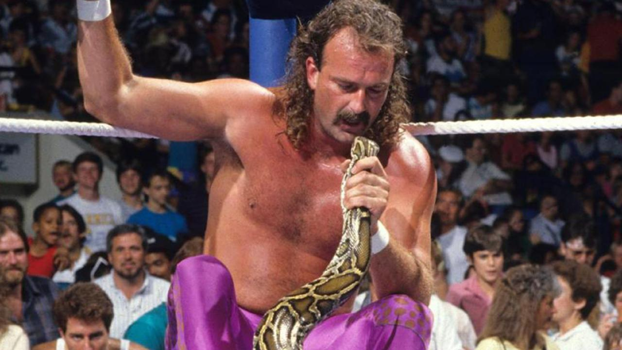 """Jake """"The Snake"""" Roberts became a WWE icon."""