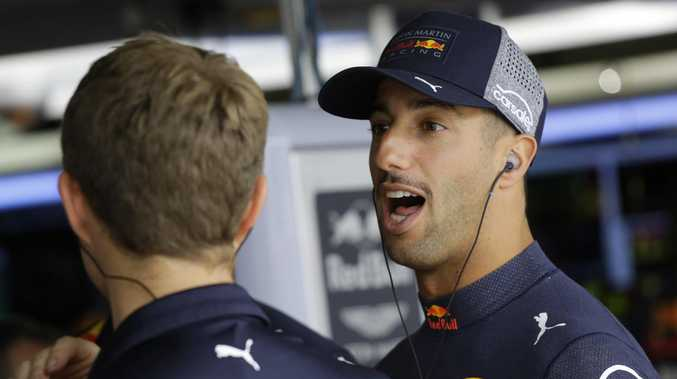 Daniel Ricciardo is feeling good about his switch. (AP Photo/Nelson Antoine)