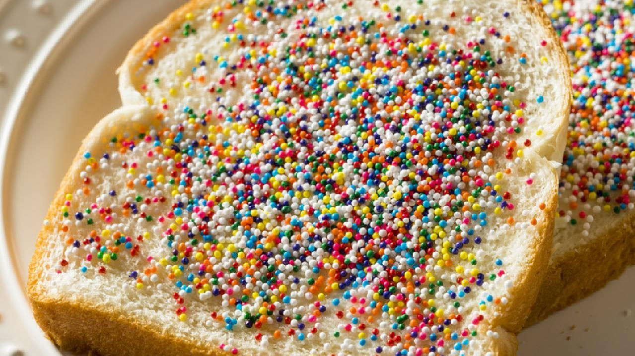 Is there anything better than homemade Aussie Fairy Bread with Sprinkles and Butter?