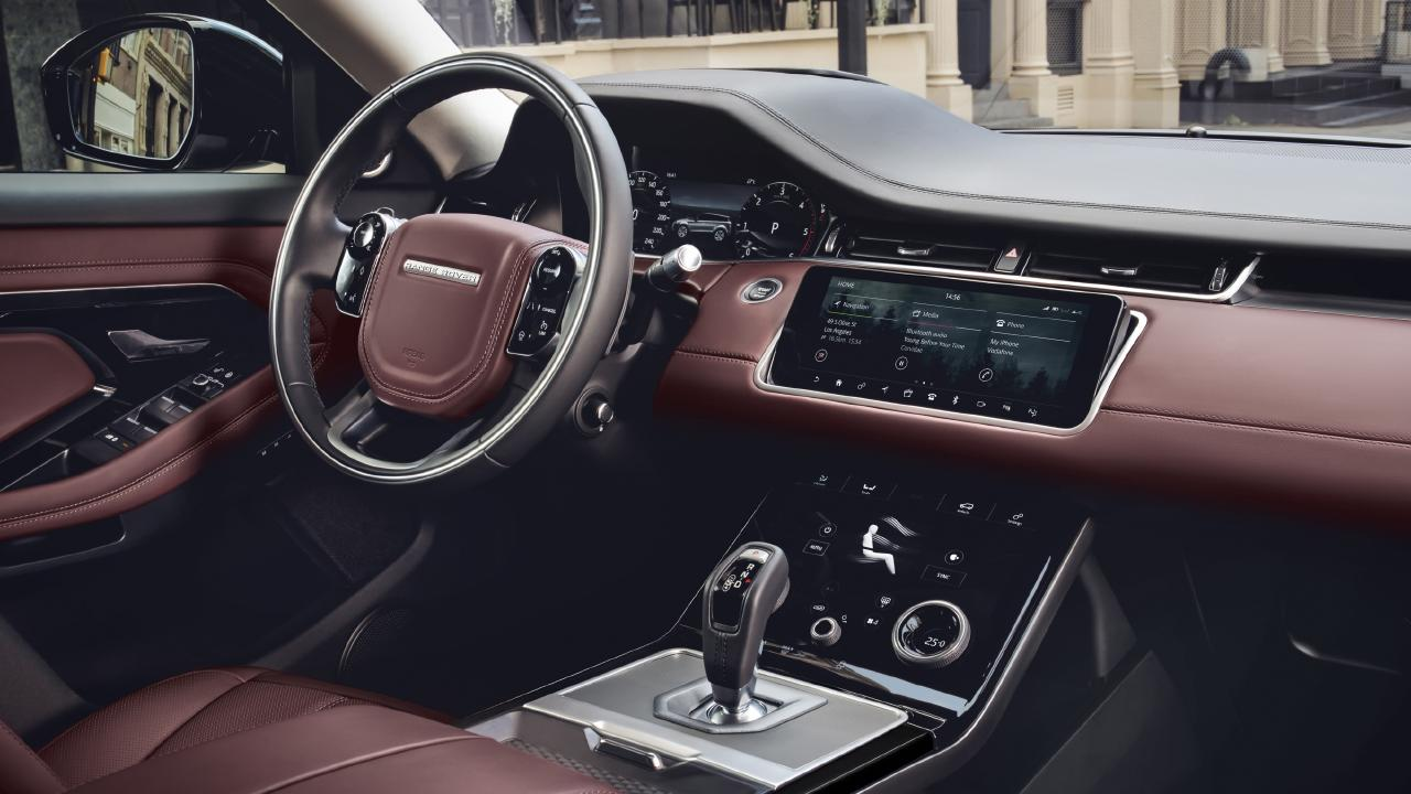 The new Evoque will have a number of interior materials made out of recycled plastic.
