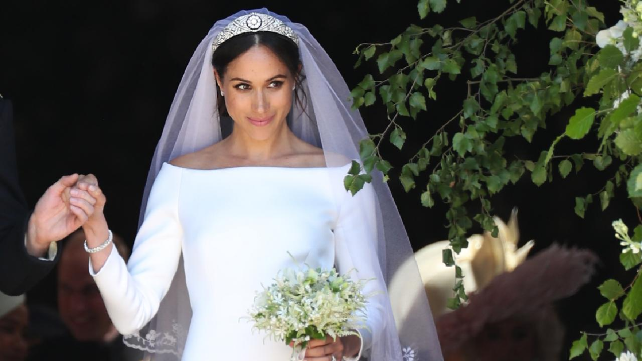 This tiara was allegedly not Meghan's first choice. Picture: Getty Images
