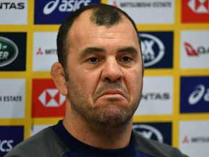 Cheika drops huge hint of Wallabies makeover
