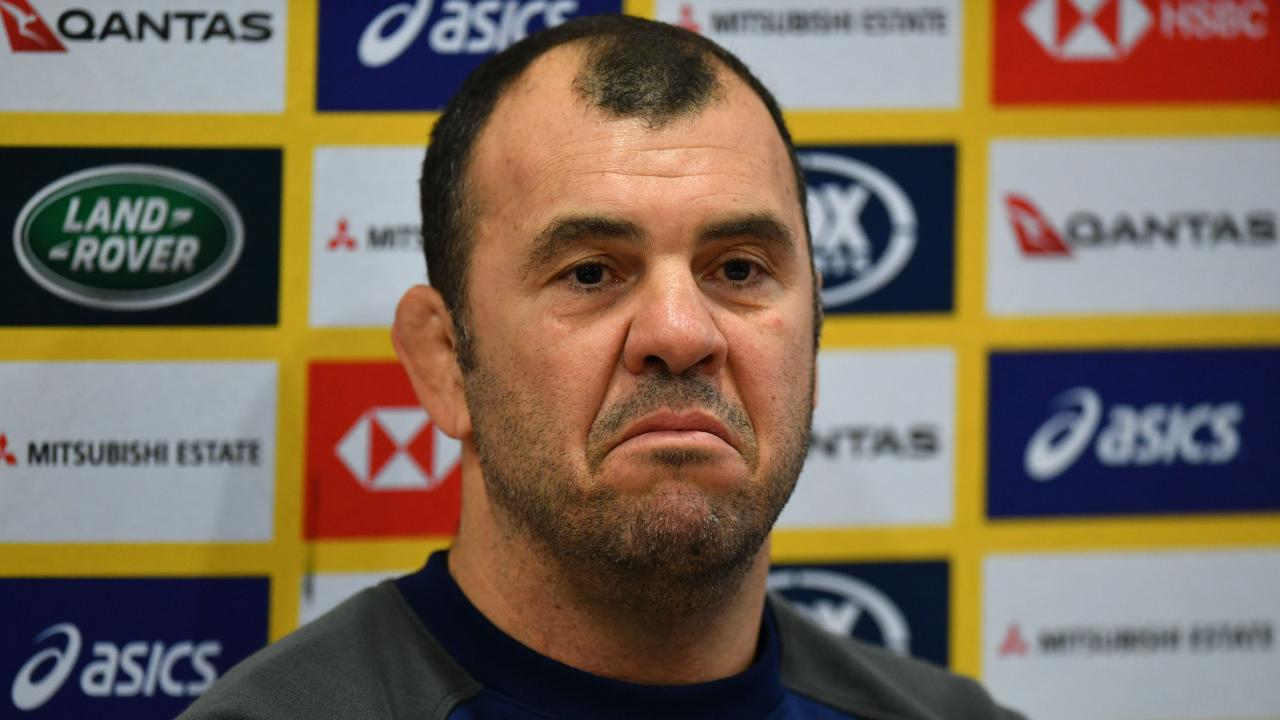Michael Cheika is planning to make changes to the Wallabies. Picture: Getty Images