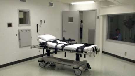 Pipe bomber Moody died in this lethal injection chamber at Holman Correctional Facility in Alabama in April.