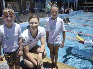 Olympic legend gives Toowoomba children a gold medal lesson