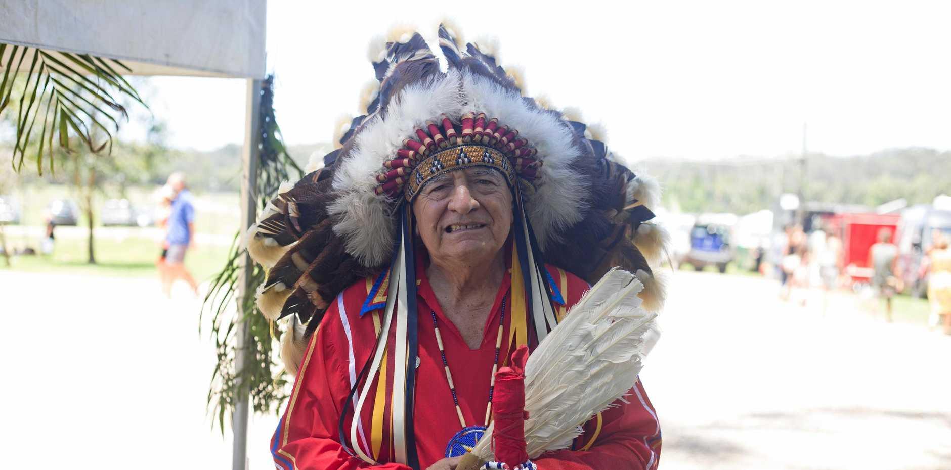 Cultural speaker Hereditary Chief Phil Lane Jr Souix Yanktomi/Chickasaw Nations.