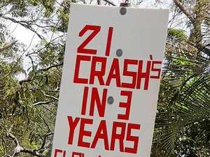 Buderim street's crash rate worries residents