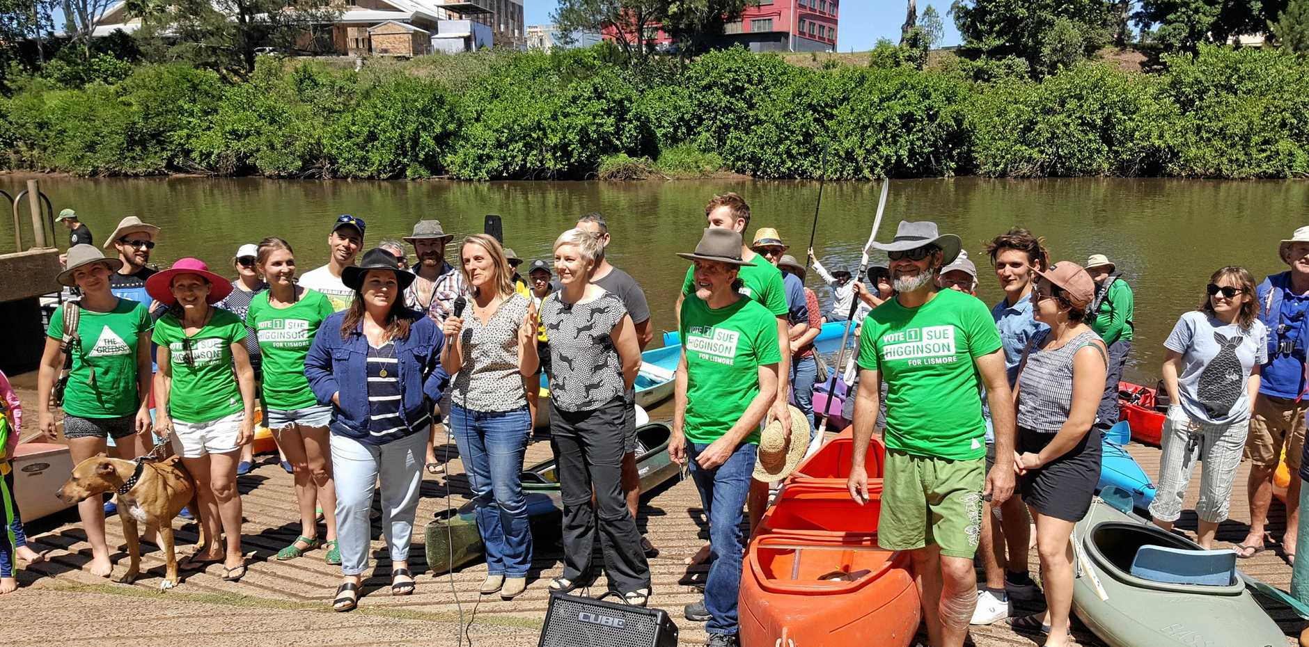 GREEN SWELL: The comprehensive plan to restore the Richmond River could make river swimming in Lismore possible again, as well as many other economic and ecological benefits, The Greens argue.
