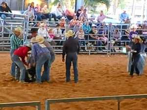 Activists capture footage of alleged calf death at rodeo