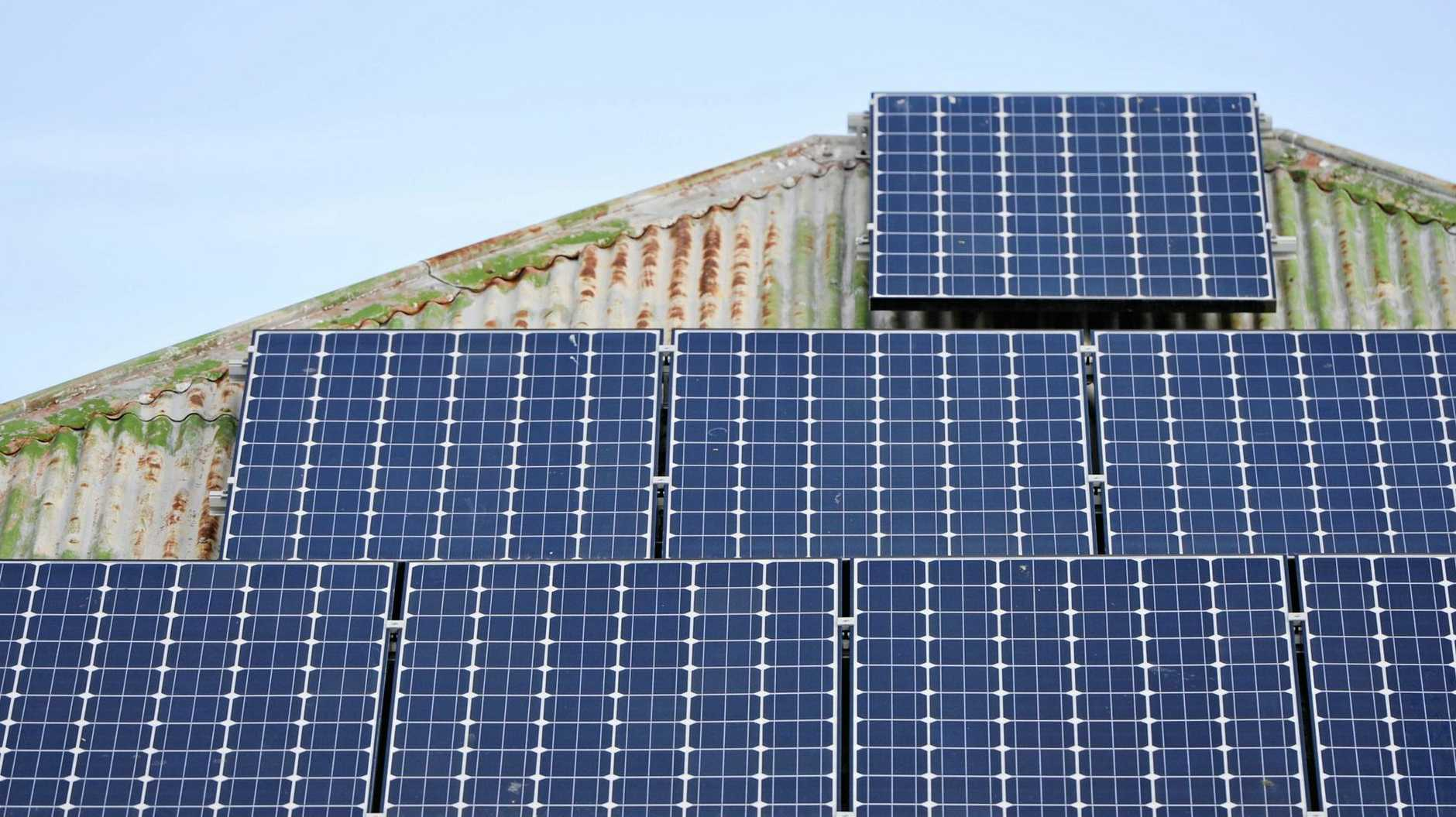 Solar panels may not be rainbow solution.